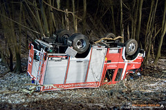 Unfall auf Einsatzfahrt Lorch 13.02.12