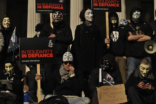Anonymous and Amnesty together at MENA