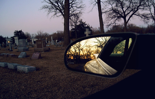 winter sunset rearview rogerwaters mountolivetcemetery negative1 2000pontiactransamws6