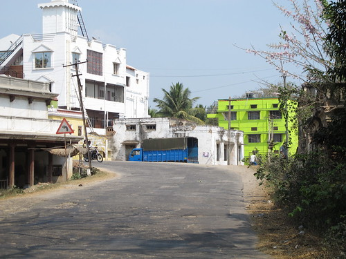 Bright walls, S. India