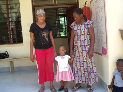 Outside the Children's Court in Kilifi