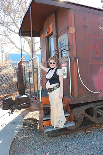steampunk maternity train day