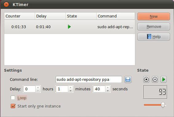 ktimer Ubuntu