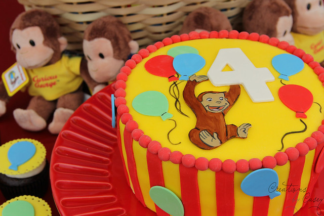 Curious George close-up