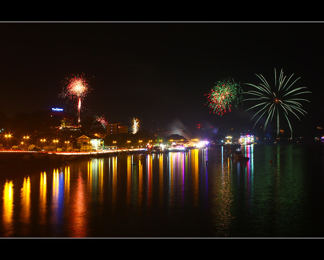 New Year fireworks... Goa.