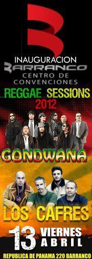 Gondwana & Los Cafres - C. Convenciones Barranco