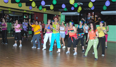 Zumba Fitness @ Gold's Gym Moca