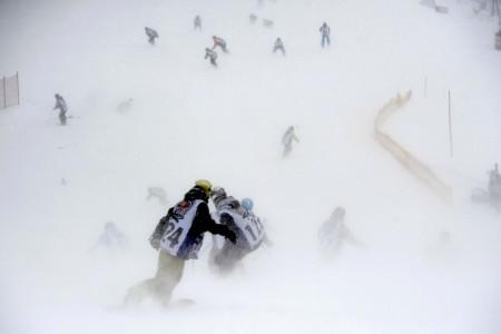Red Bull Zjazd na Doraz - snehovú masovku vyhral Duda