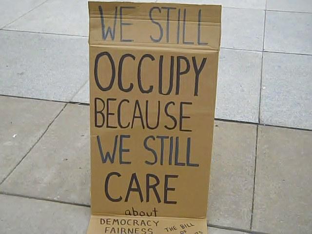 Occupy Nashville 18 Feb 2