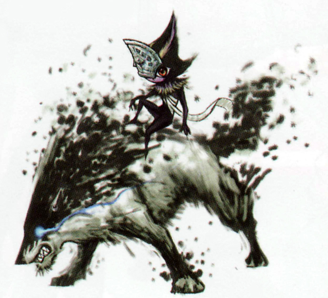 TP Wolf Link & Midna