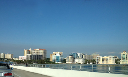 View from Ringling Bridge Sarasota