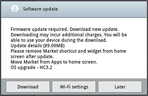 Download 89.09 MB for Honeycomb 3.2