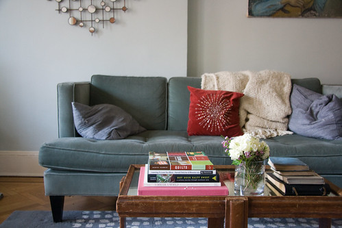 Sofa & coffee table