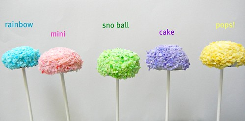 mini hostess snoball cake pops