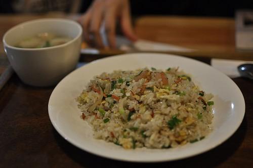 20120118-70元的蝦仁蛋炒飯-1