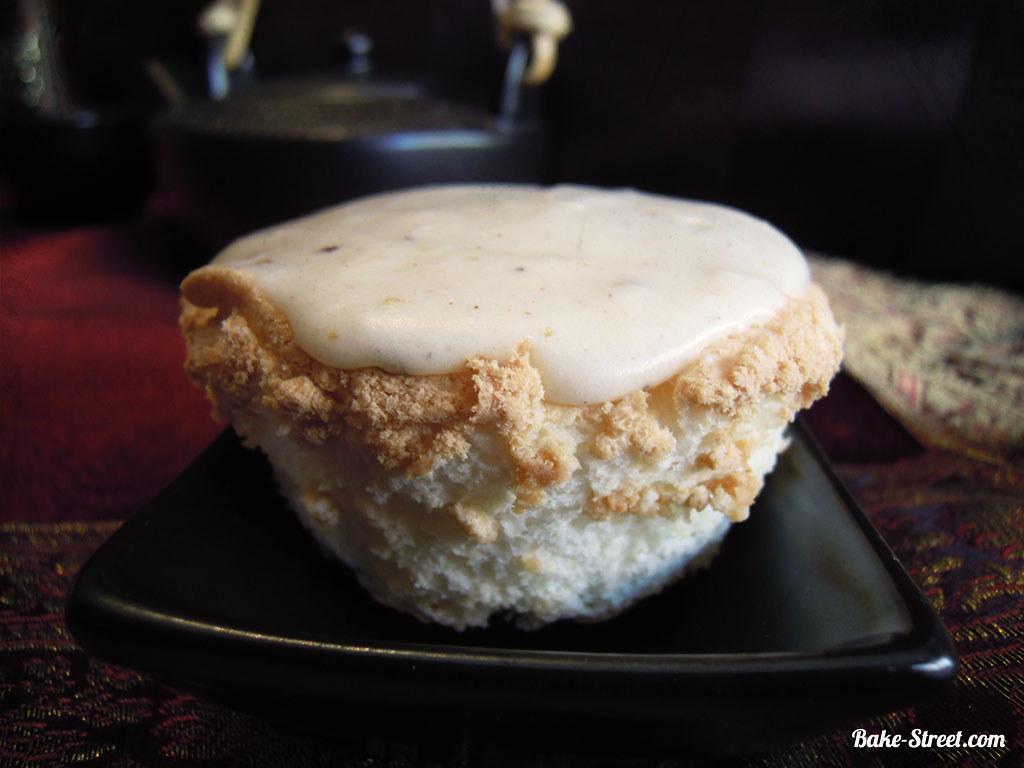 Pastel De Angel – Food Cake Con Glaseado Especias Chai