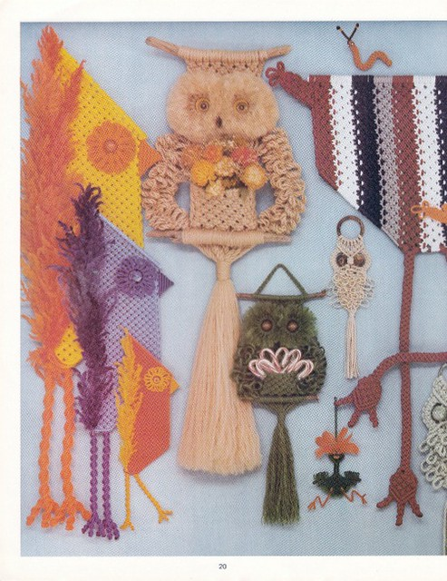 Macrame is for the Birds Judy Palmer 1979 inside 2