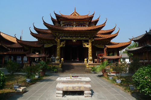 Theravada Buddhist Temple - Jinggu, Yunnan, China