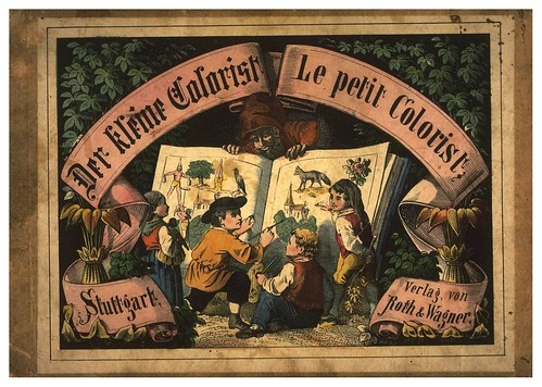 001-portada-Der kleine Colorist-c.a 1850- Universität Oldenburg