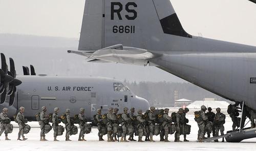 無料写真素材, 戦争, 兵士, 軍用機, 輸送機, アメリカ軍, C ハーキュリーズ