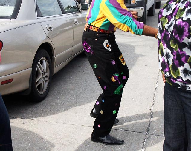 mardi gras pants
