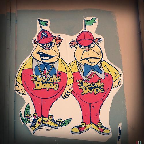 56/366: Tweedle Dope & Tweedle Dupe