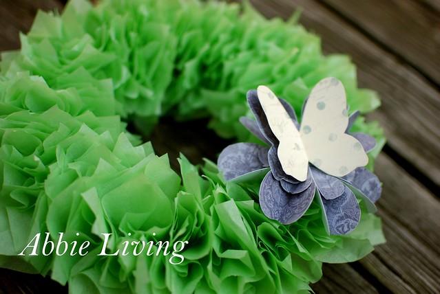 SpringTissuePaperWreath1