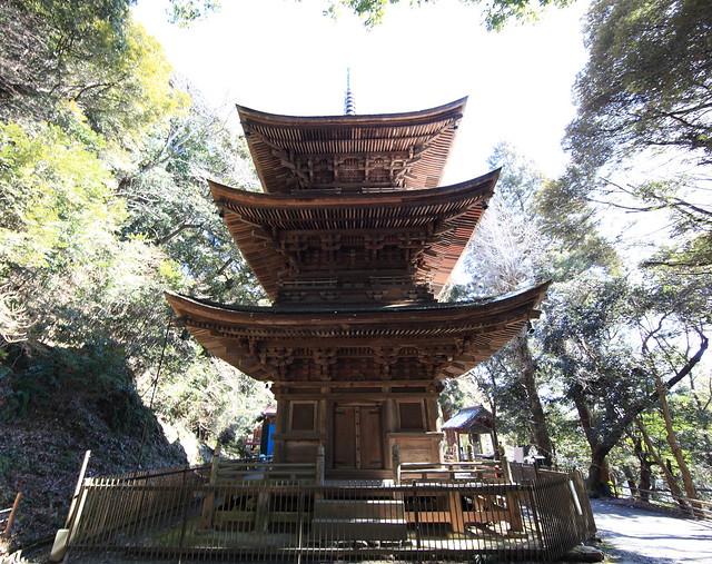 Photo:Three-storied Pagoda / 三重塔(さんじゅうのとう) By TANAKA Juuyoh (田中十洋)