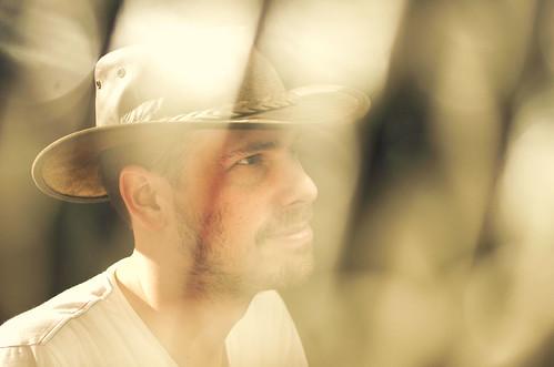 [フリー画像素材] 人物, 男性, 人物 - 横顔・横を向く, 帽子, オランダ人 ID:201203051600