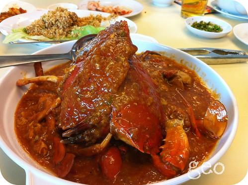 Pantai Seafood - chilli crabs