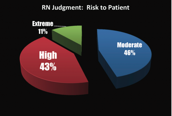 RN Judgement: Risk to Patient chart