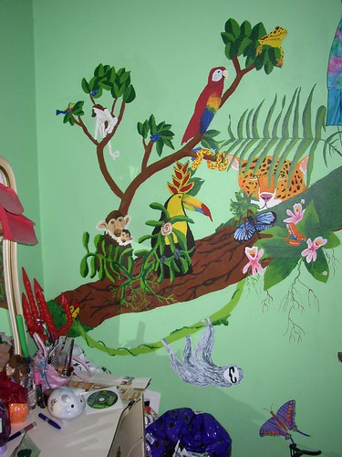 Childhood Bedroom, Mural