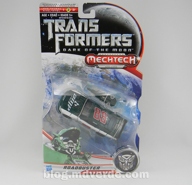 Transformers Roadbuster Deluxe - Dark of the Moon - caja