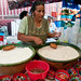 Serving up Tejate at Tlacolula Market - Mexico