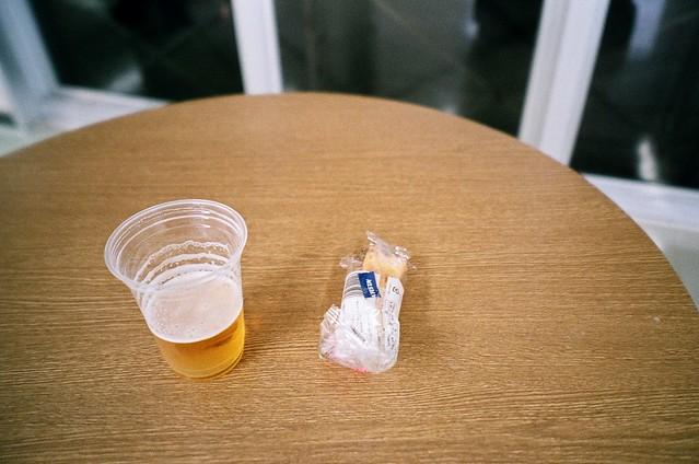 ビールとちくわ