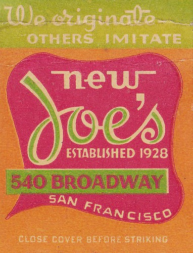 New Joe's San Francisco by hmdavid