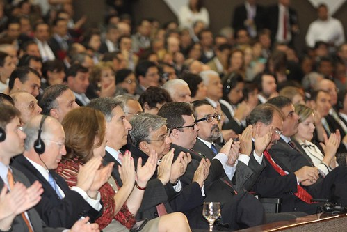 Audience at the OGP Annual Meeting 2012