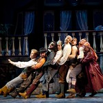 Members of the cast of  PIRATES! (or, GILBERT AND SULLIVAN PLUNDER'D), photo: T. Charles Erickson