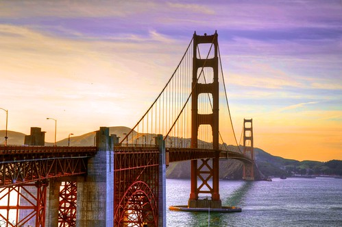 Golden Gate & Sunset