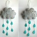 Felt Cloud Mobile by bugsandfishes by lupin