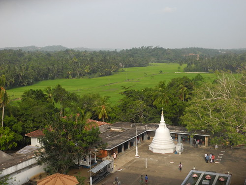 View from Weherahena Temple, Matara