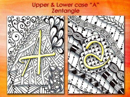 "Upper & Lower Case ""A"" ATC"