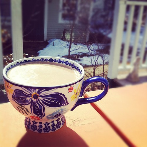 2nd Annual First Morning Coffee On The Deck Instagram--61F!!