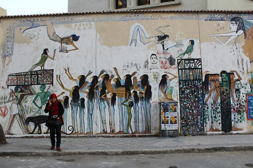 Mohamed Mahmoud St. Murals