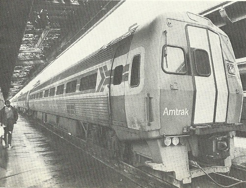 1972 Amtrak Metroliner Car (Mike Lien from New York Times)