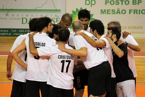 Voleibol: Vitória SC 3-1 Fonte Bastardo
