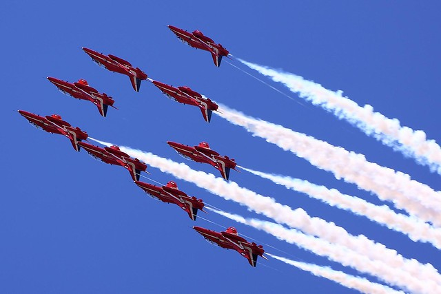 Red Arrows - RIAT 2011