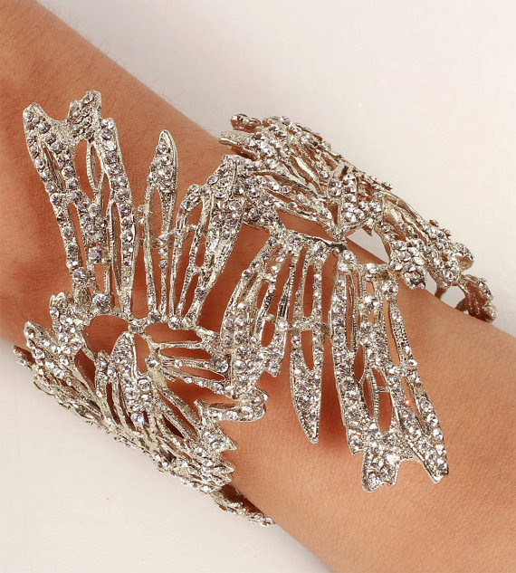 Floral Angels Wings Cuff