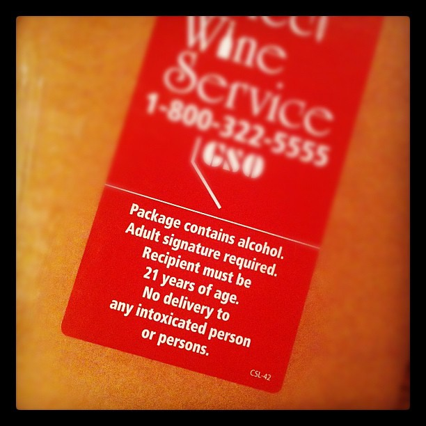 A sign - #marchphotoaday - now I have more wine!