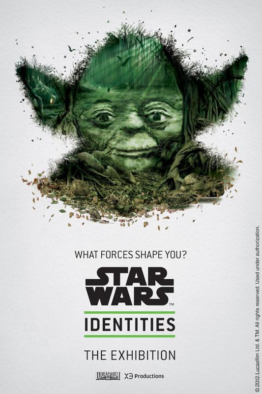 Star Wars Identities - Posters yoda